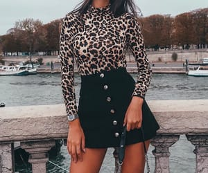 black skirt, fashion, and outfit inspiration image