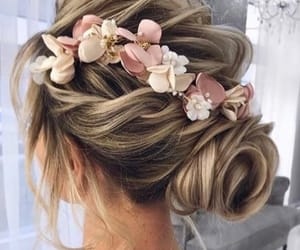 blonde, Prom, and fashion image