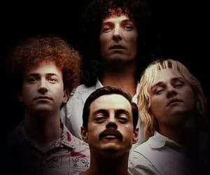 band, boys, and Freddie Mercury image
