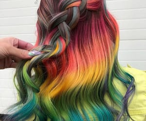 colorful, colors, and girl image