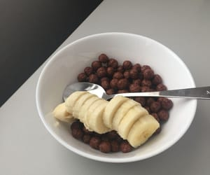 banana, chocolate, and healthy image