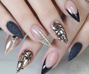 manicura, uñas, and belleza image