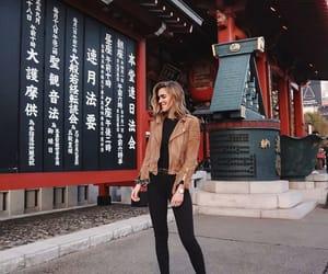 fashion, jacket, and tokyo image
