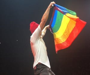 twenty one pilots, tyler joseph, and lgbt image