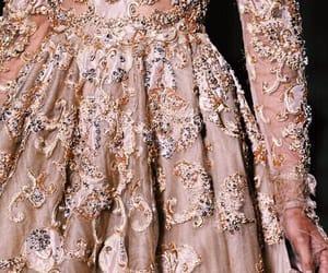 dress, fashion, and rose gold image