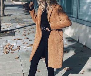 fashion and teddy coat image