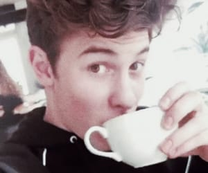 shawn mendes, coffee, and singer image