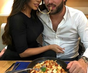 couple, food, and goal image