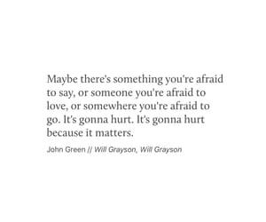afraid, feelings, and hurt image