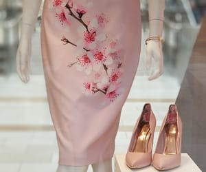 fashion, girls, and pink dress image