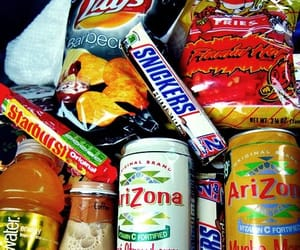 food, arizona, and snickers image