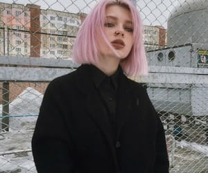 girl, grunge, and pink hair image