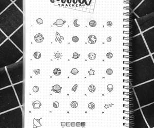 decoracion, planetas, and dibujos image