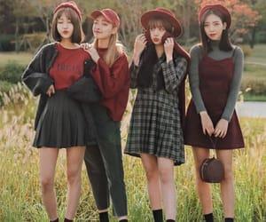 fashion, korean, and squad image