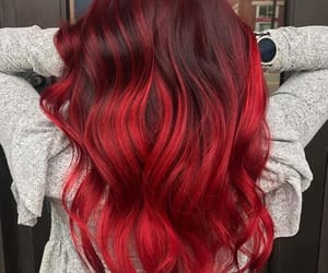 colorful, hairstyle, and coloredhair image