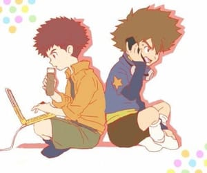 izzy, digimon, and digimon adventure image