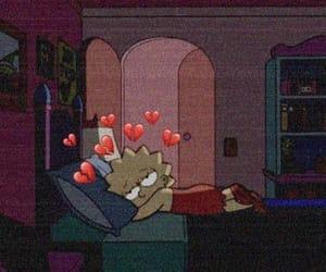 sad, lisa, and mood image