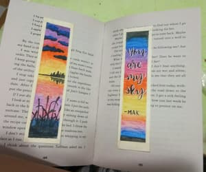 art, bookmarks, and watercolorart image