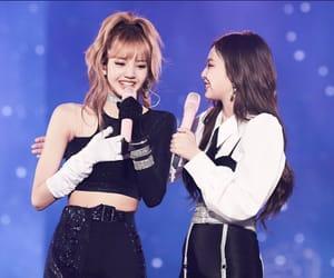 k-pop, rose, and jennie kim image