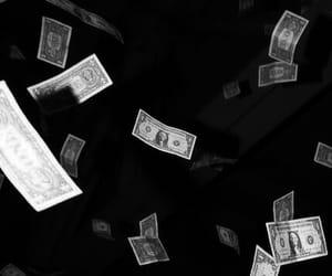 alone, black, and money image