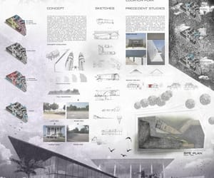 architectural, boards, and presentation image