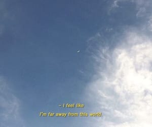 quotes, sky, and aesthetic image