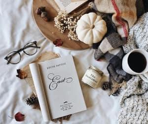 autumn, books, and november image
