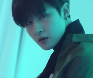 blue, mx, and changkyun image
