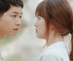 dots, song joong ki, and kang moyeon image