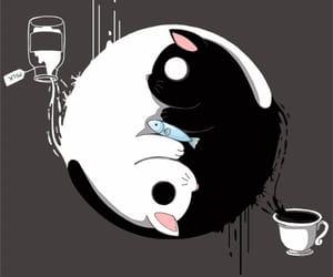 blanco y negro, dibujo, and divertido image