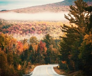 autumn, mountains, and color image