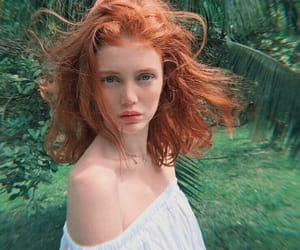 cabelo, ginger, and green image