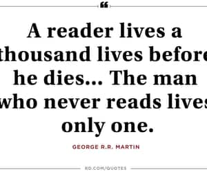 books, knowledge, and quote image