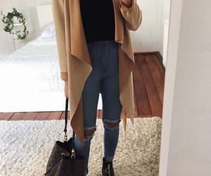 autumn, clothe, and clothes image