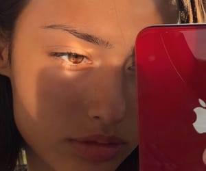 aesthetic, eyes, and skin image