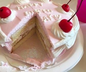 cake, dessert, and soft image