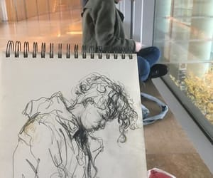 art, artistic, and sketch image