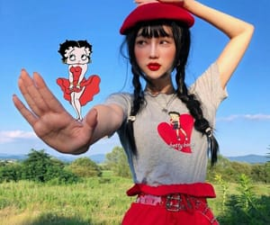 asian, betty boop, and female image