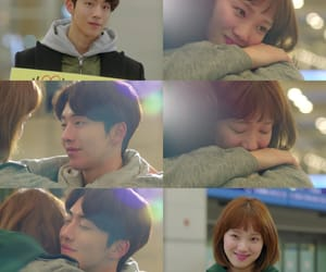 couple, lee sung kyung, and drama image