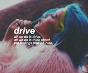 halsey, drive, and badlands image