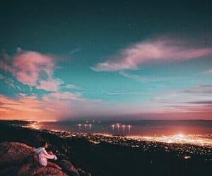 city, sky, and amazing image
