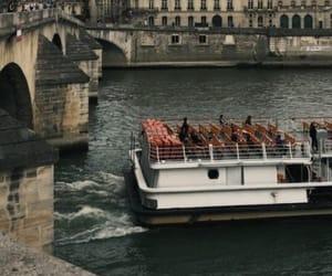 paris, river, and france image