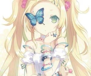 anime, anime girl, and bracelets image
