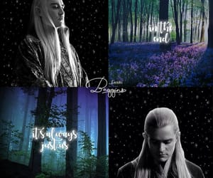 aesthetic, edit, and Legolas image