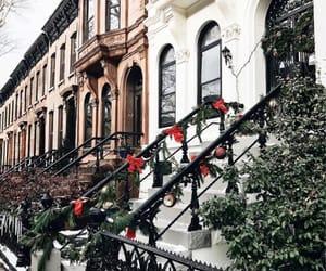 christmas, new york, and travel image