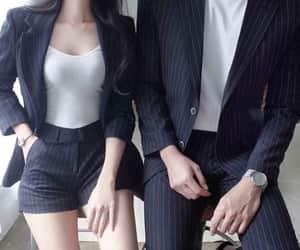 couple, fashion, and boy image