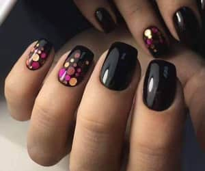 color, desing, and nails image