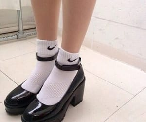 nike, pale, and shoes image