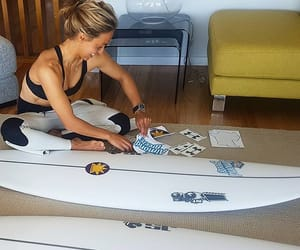 board, surfstyle, and girl image