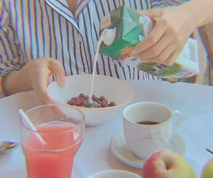 apple, cereals, and coffee image